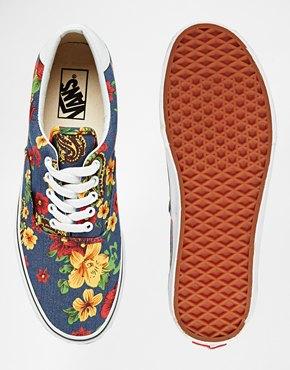Zapatillas con estampado floral Era 59 de Vans